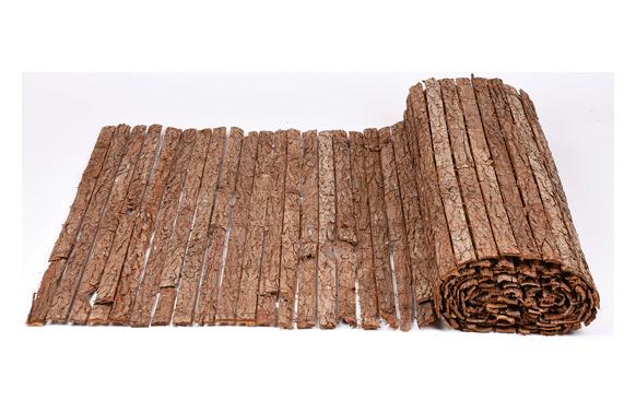 Corteza de pino simple cara 2 x 3 m