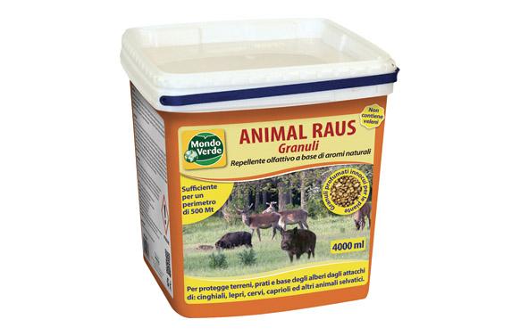 Repelente animales salvajes jabalis, ciervos en grano 4000 ml