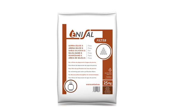 Arena silice fina 's' 25 kg