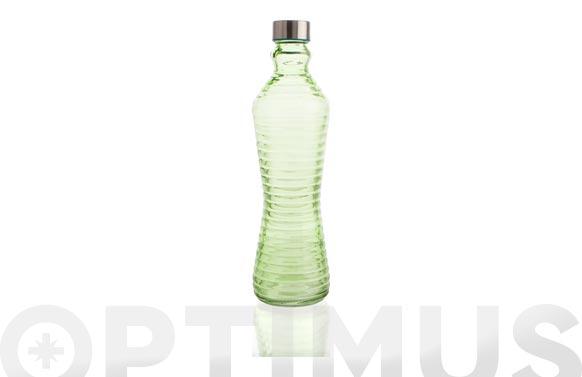 Botella cristal 1l - verde