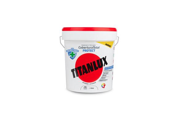Pintura plastica antibacterias cobertura total protect 12,5 l blanco