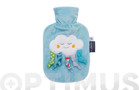 Bolsa agua caliente 0,8 lt infantil nube
