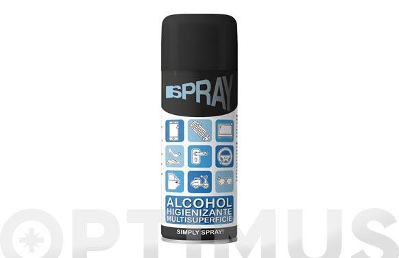 Limpiador desinfectante alcohol isopropilico 200 ml spray