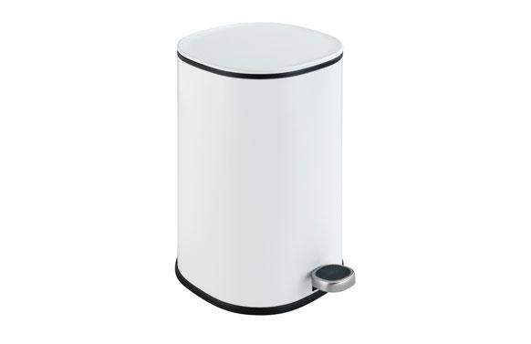 Cubo baño con pedal nant blanco 5 l