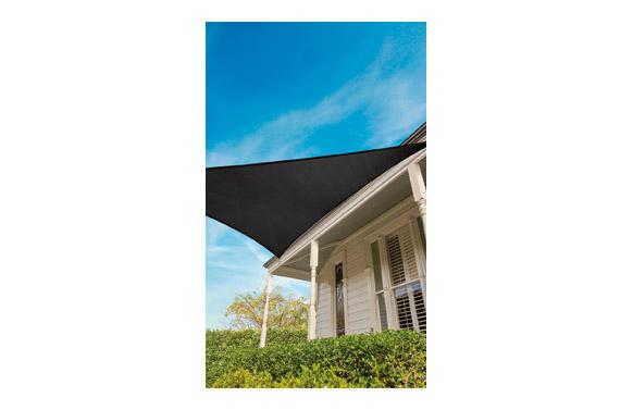Toldo vela sombreo everyday sail triangular 3,6 m grafito 205 gr