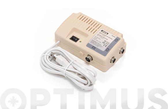 Amplificador de señal de antena 2 salidas interior