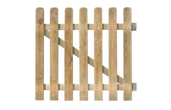 Puerta mustang  100 x 100 cm espesor 15 mm