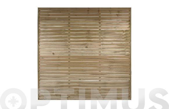 Panel tea 180 x 180 cm  marco de 20 mm de espesor