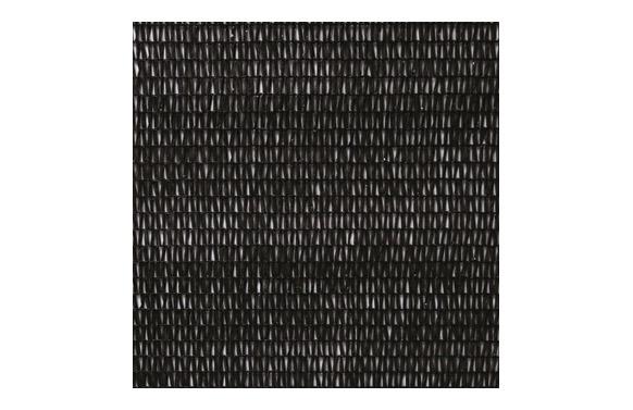 Malla ocultacion 90.  1,5 x 5 mt ng/negro