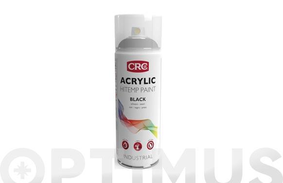 Pintura spray anticalorica 400 ml negro