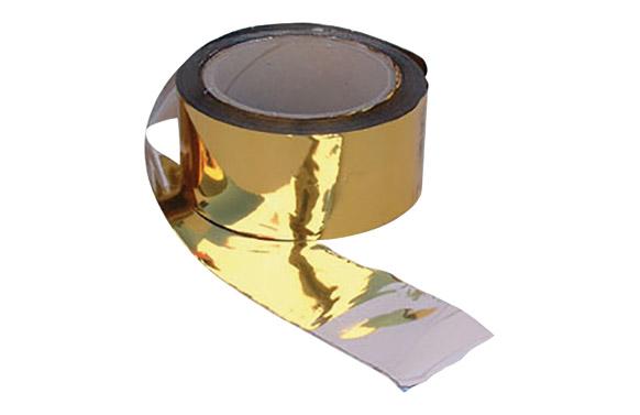 Banda espantapajaros 100mx50mm oro/plata 100mx50mm