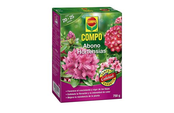 Abono hortensias 750 g