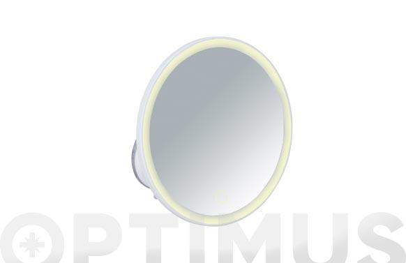 Espejo cosmetica con ventosa isola x5