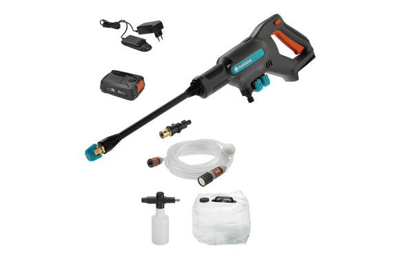 Hidrolimpiadora a bateria aquaclean 24/18 p4a 18 v