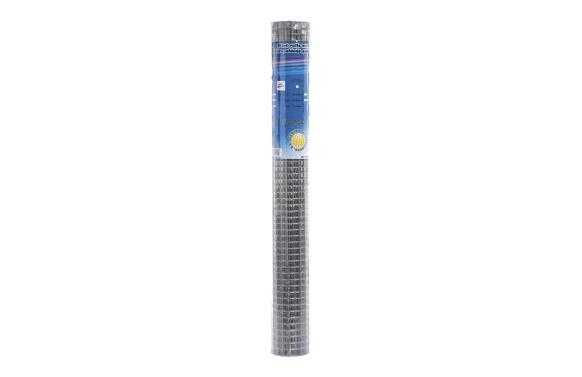 Malla electrosoldada galvanizada  6 x 6 mm ø0.6 mm 1 x 10 m