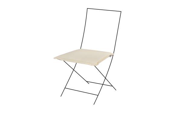 Cojin silla zippo crudo 40 x 40 x 5 cm