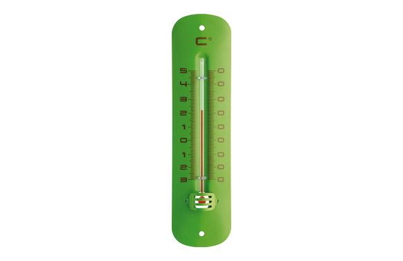 Termometro atmosferico metal verde