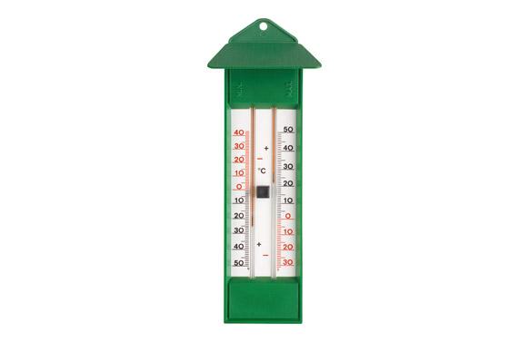 Termometro maxima-minima ecologico color verde