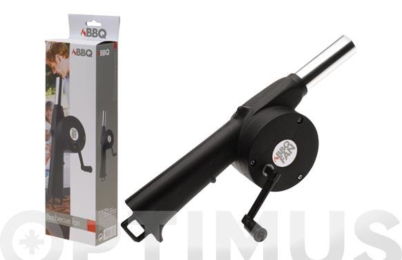 Ventilador para encendido de bbq