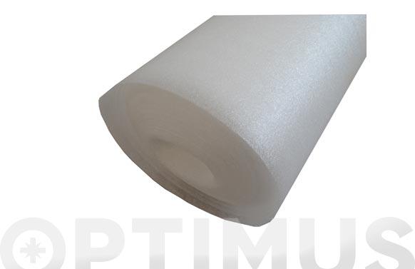 Espuma foam 3 mm blanco 1.2 x 25 m