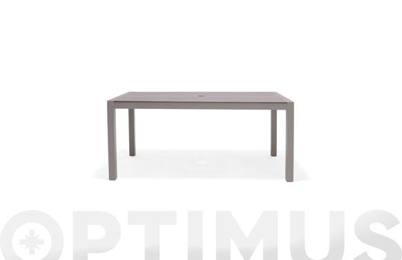 Mesa aluminio duraboard morella  160x88 cm