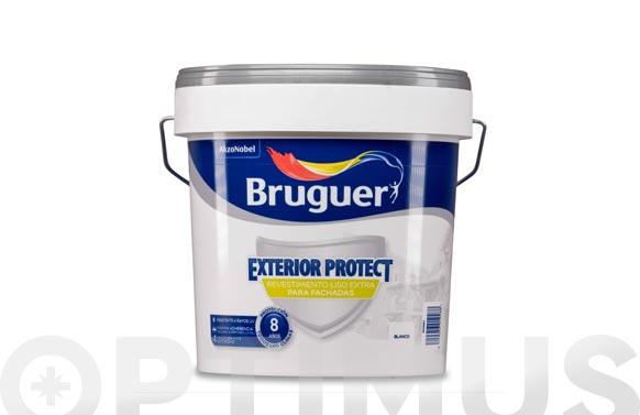 Revestimiento exterior protect liso blanco 25 kg