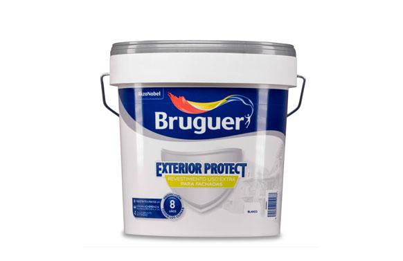 Revestimiento exterior protect liso blanco 4 l