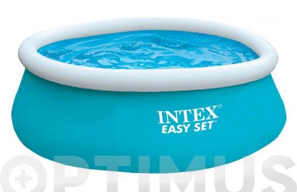 Piscina redonda autoportante easy set pool ø 183 x 51 cm