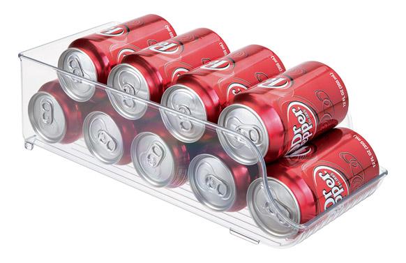 Organizador nevera latas 9 latas - 35 x 14 x 10 cm