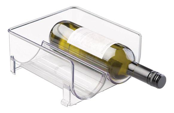 Organizador nevera botellas 2 botellas - 20 x 20 x 10 cm
