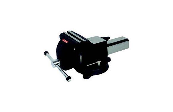 Tornillo de banco de acero 125 mm base giratoria