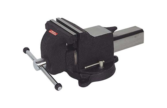 Tornillo de banco de acero 200 mm base giratoria