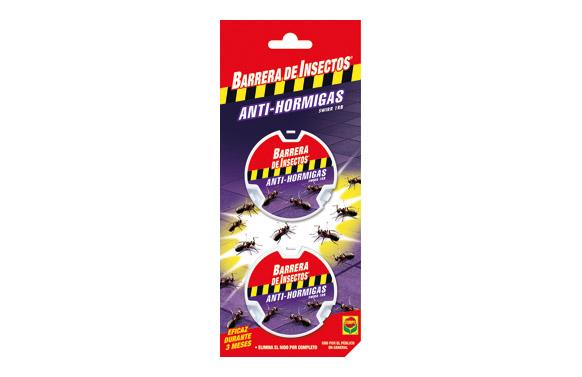 Barrera de insectos antihormigas cebo 2x10 gr