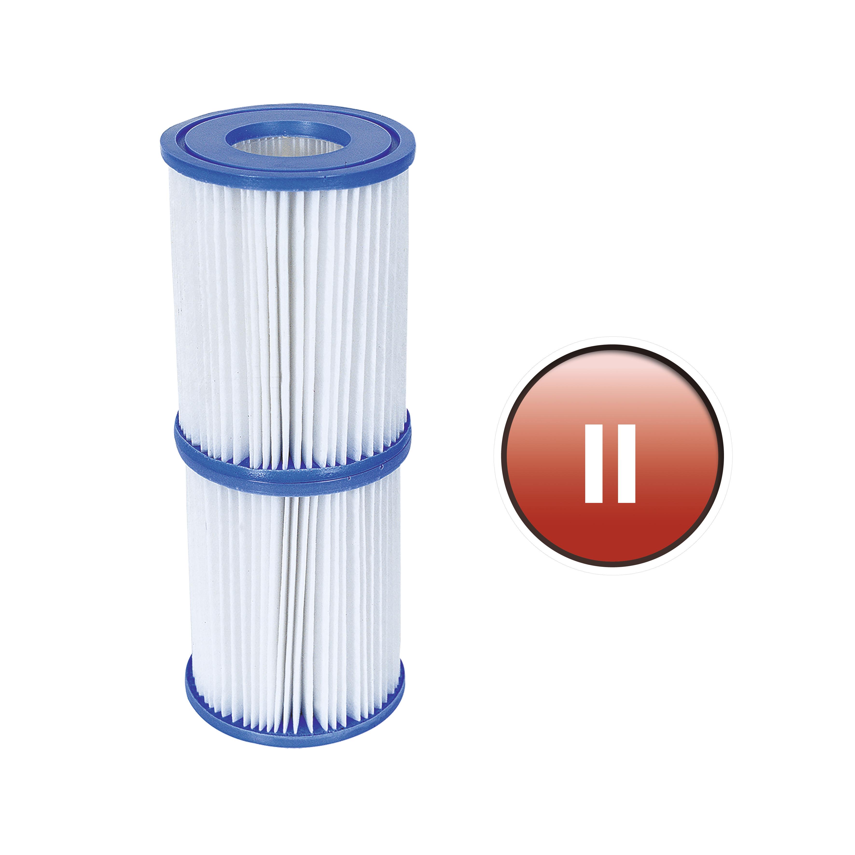 Set dos filtros cartucho para depuradora tipo ii 2006 y 3028 l/h