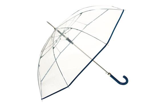 Paraguas largo señora automatico transparente