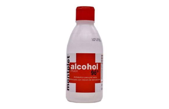 Alcohol etilico 96. 250 ml