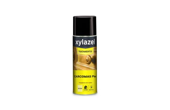 Protector madera spray carcomas plus 400 ml