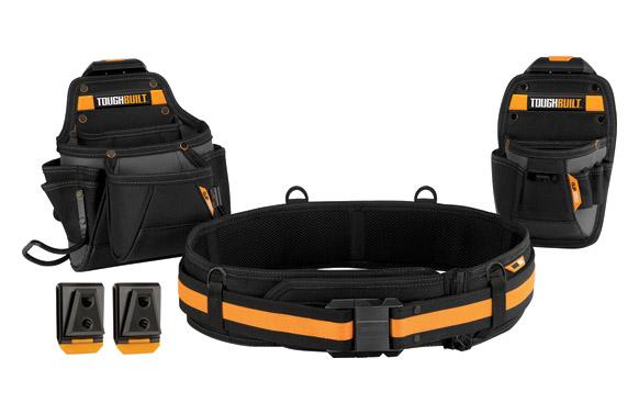 Cinturón portaherramientas mantenimiento set 3 piezas