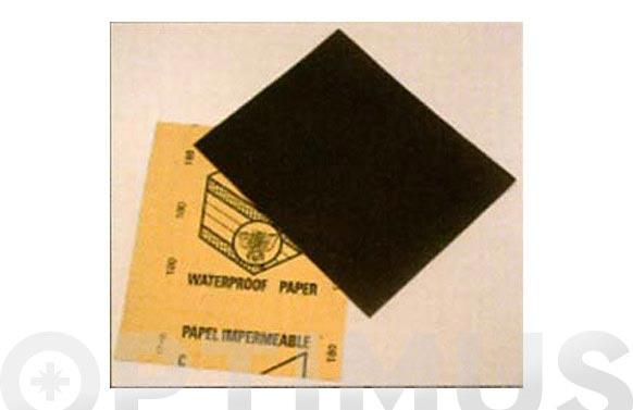 Lija de mano papel impermeable abeja n.120-230 x 280 mm