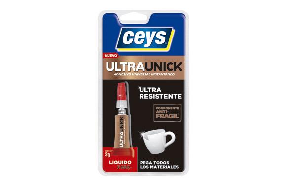 Adhesivo instantaneo ultraunick liquido 3 gr